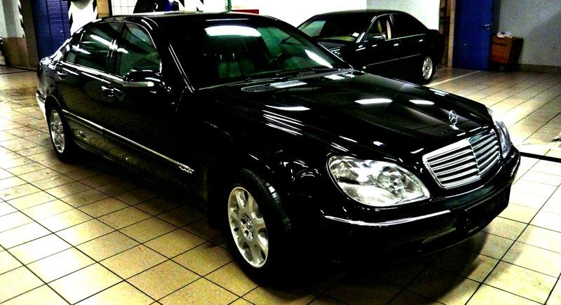 Mercedes benz s600l w220 for Mercedes benz s600l